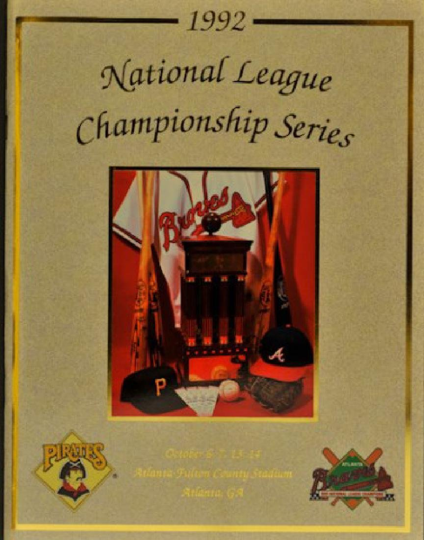 1992 National League Championship Series Program