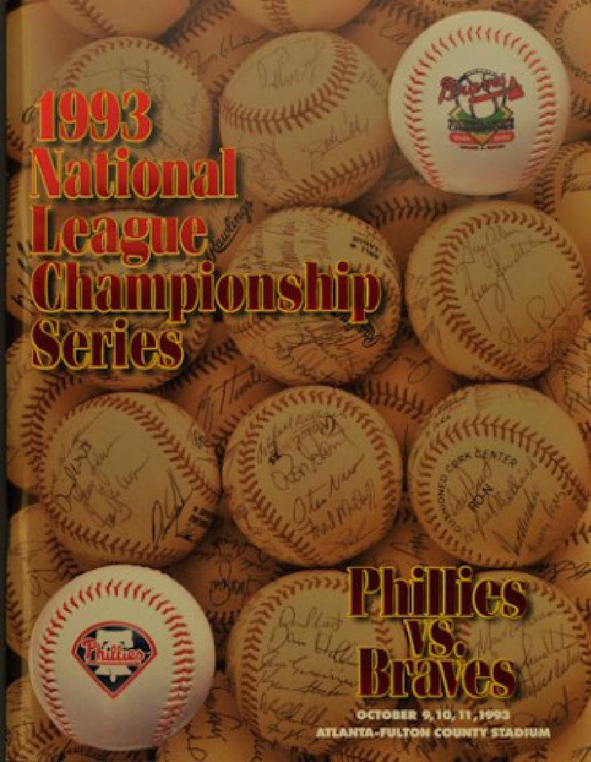 1993 National League Championship Series Scorecard