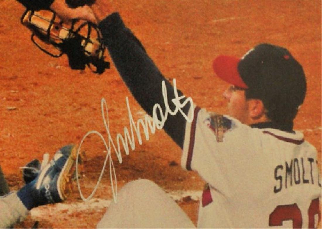 1992 Signed John Smoltz Sports Illustrated - 2