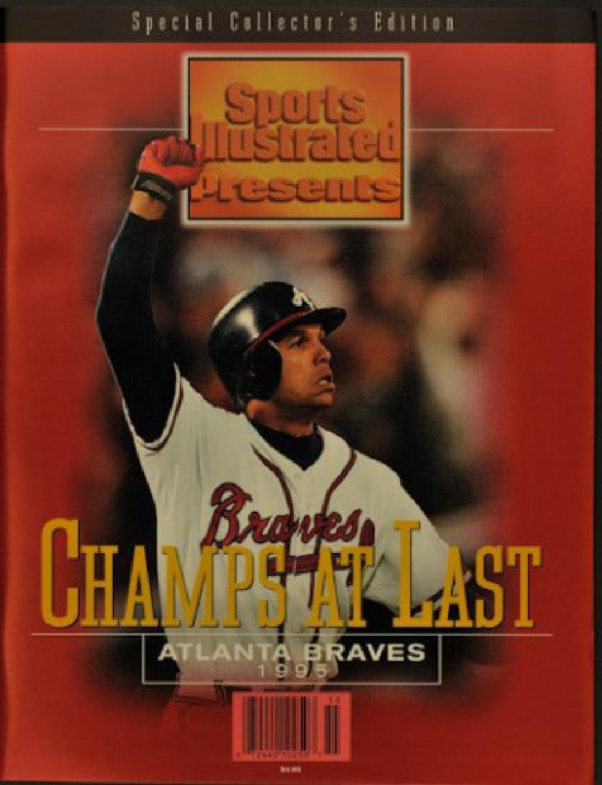 "1995 Sports Illustrated Braves ""Champs at Last"""
