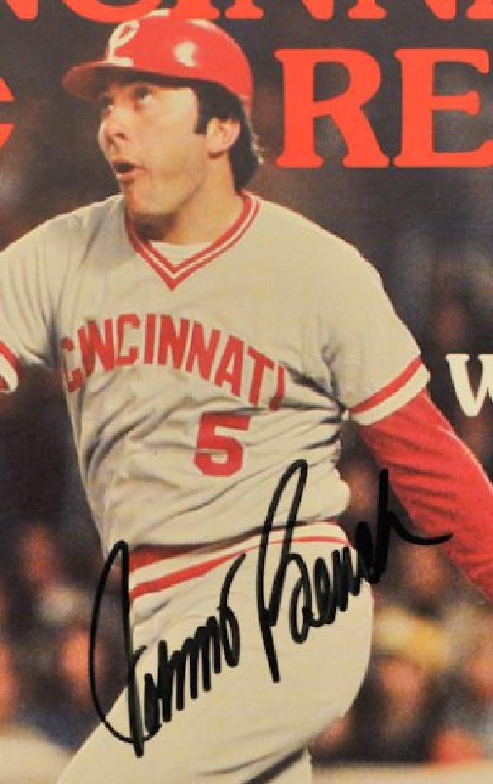 Signed Johnny Bench Cincinnati Club Magazine