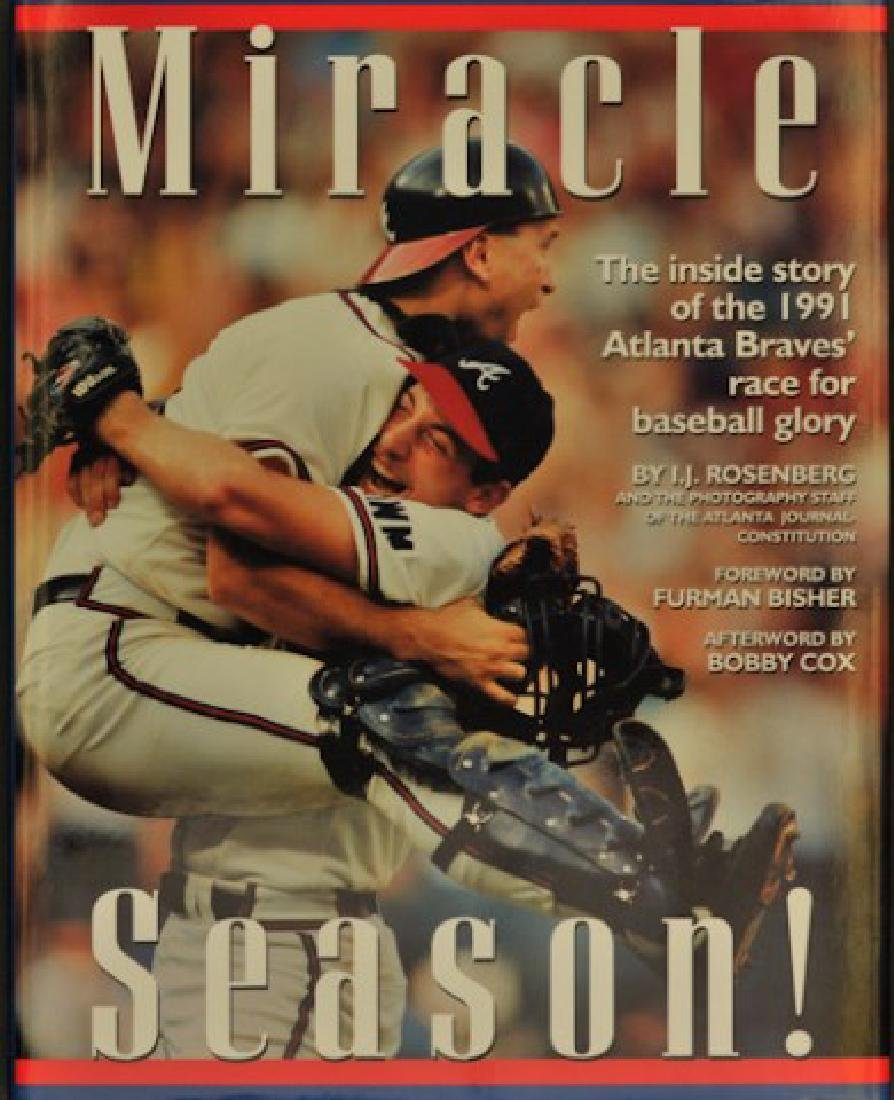 "Signed ""Miracle Season"" 1991 Atlanta Braves"