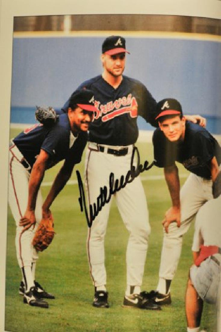"Signed ""Miracle Season"" 1991 Atlanta Braves - 3"