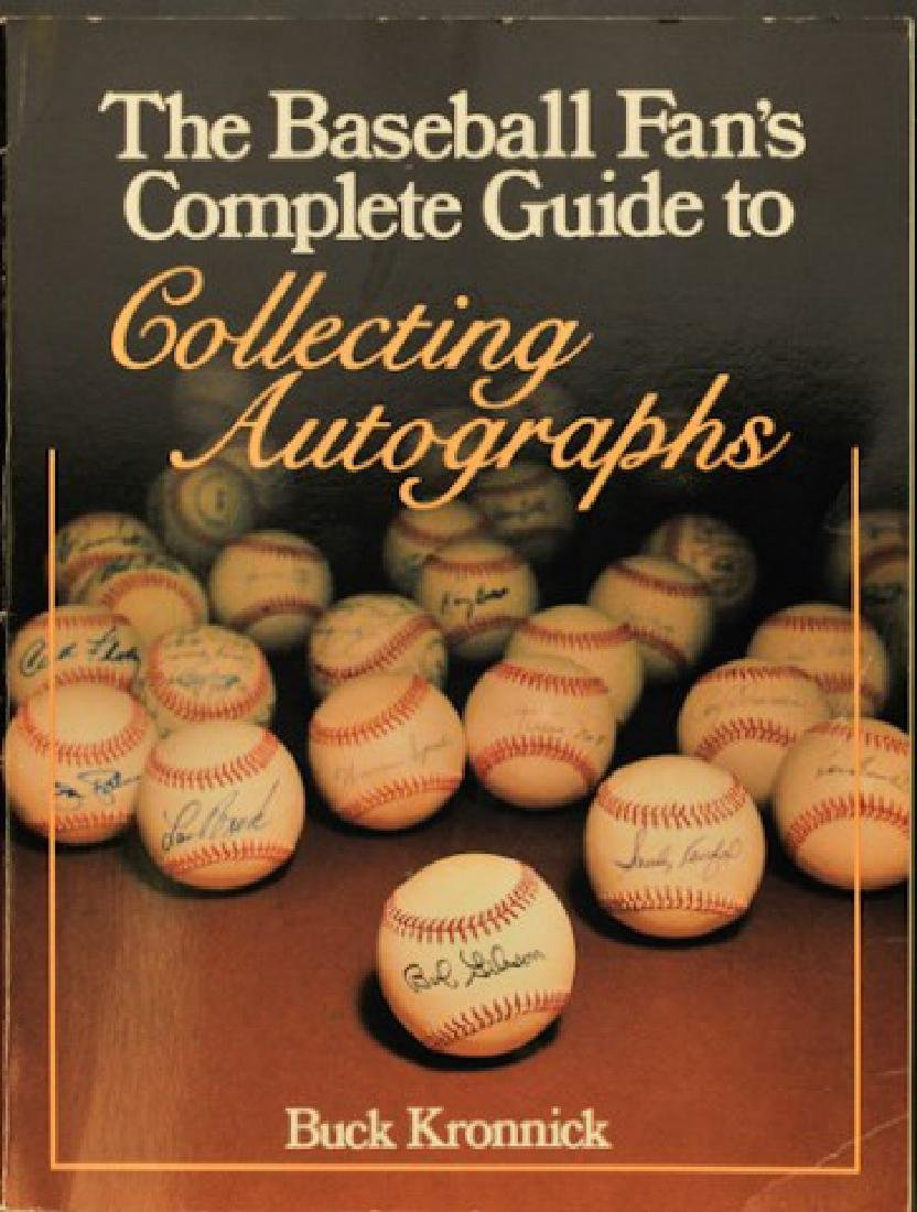 Baseball Guide to Collecting Autographs Book