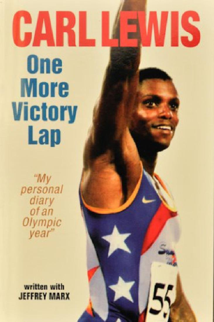 Carl Lewis Signed Book
