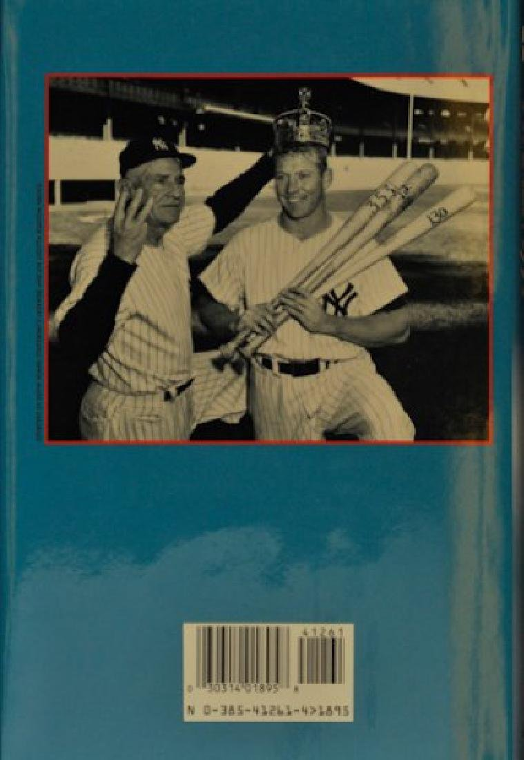 "Signed Mickey Mantle ""My Favorite Summer 1956"" - 3"