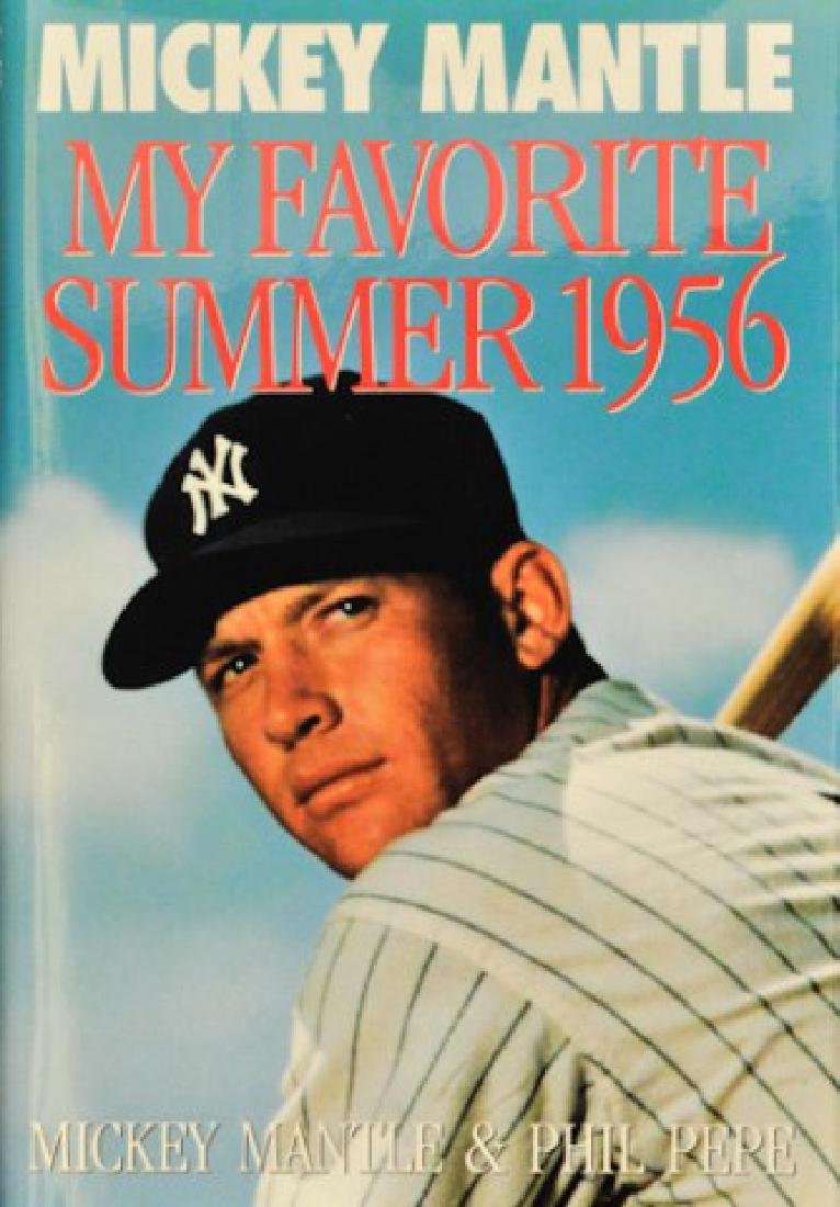"""Signed Mickey Mantle """"My Favorite Summer 1956"""""""