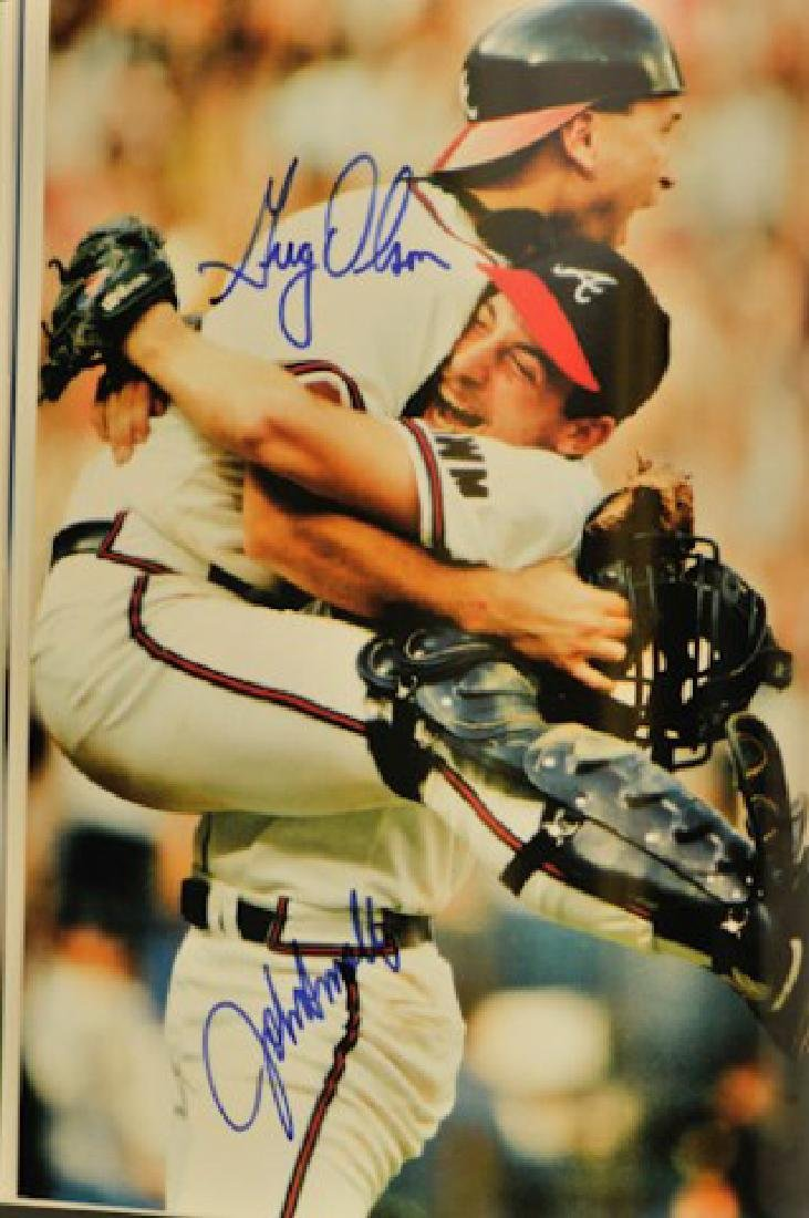 Autographed Miracle Season Atlanta Braves - 5