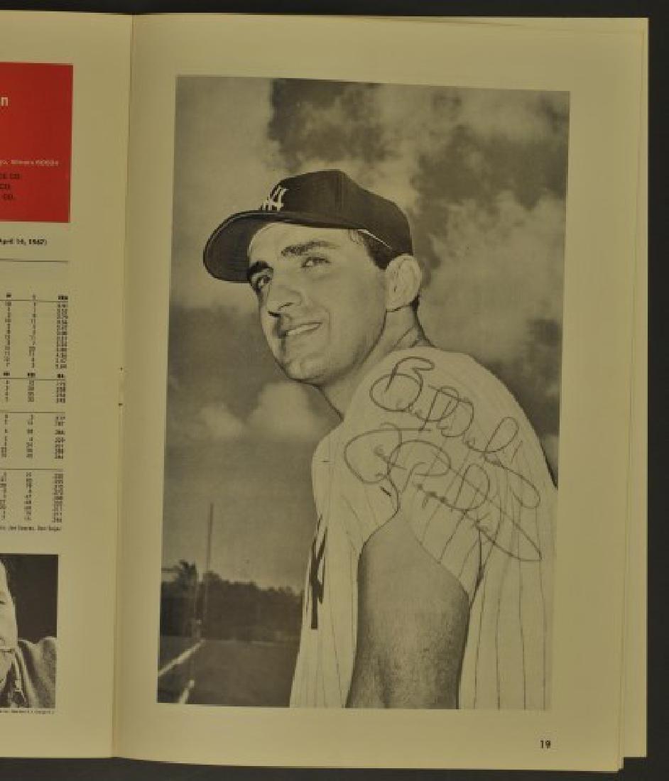 1967 Signed Yankees Scorecard / Official Program - 2