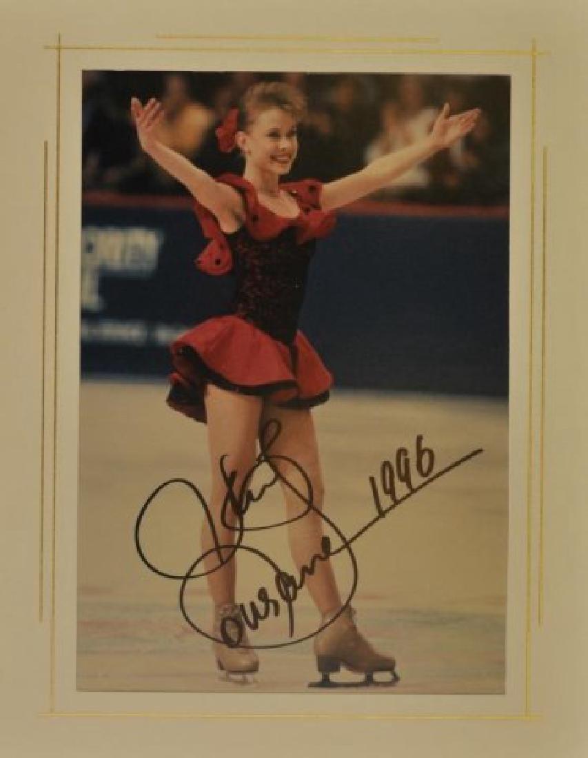 Signed Oksana Baiul Photo 1996
