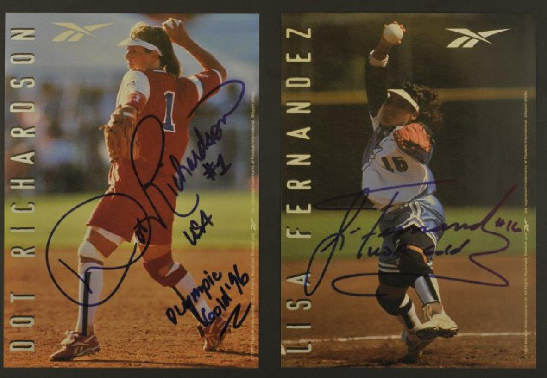 Four Olympic Signed Photos - 2