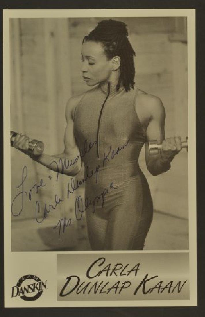 Four Olympic Signed Photos - 3