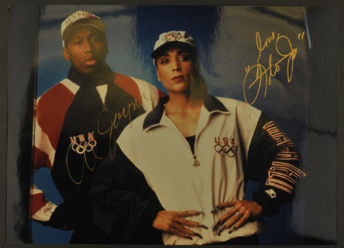 Signed Florence Griffith Joyner Photo