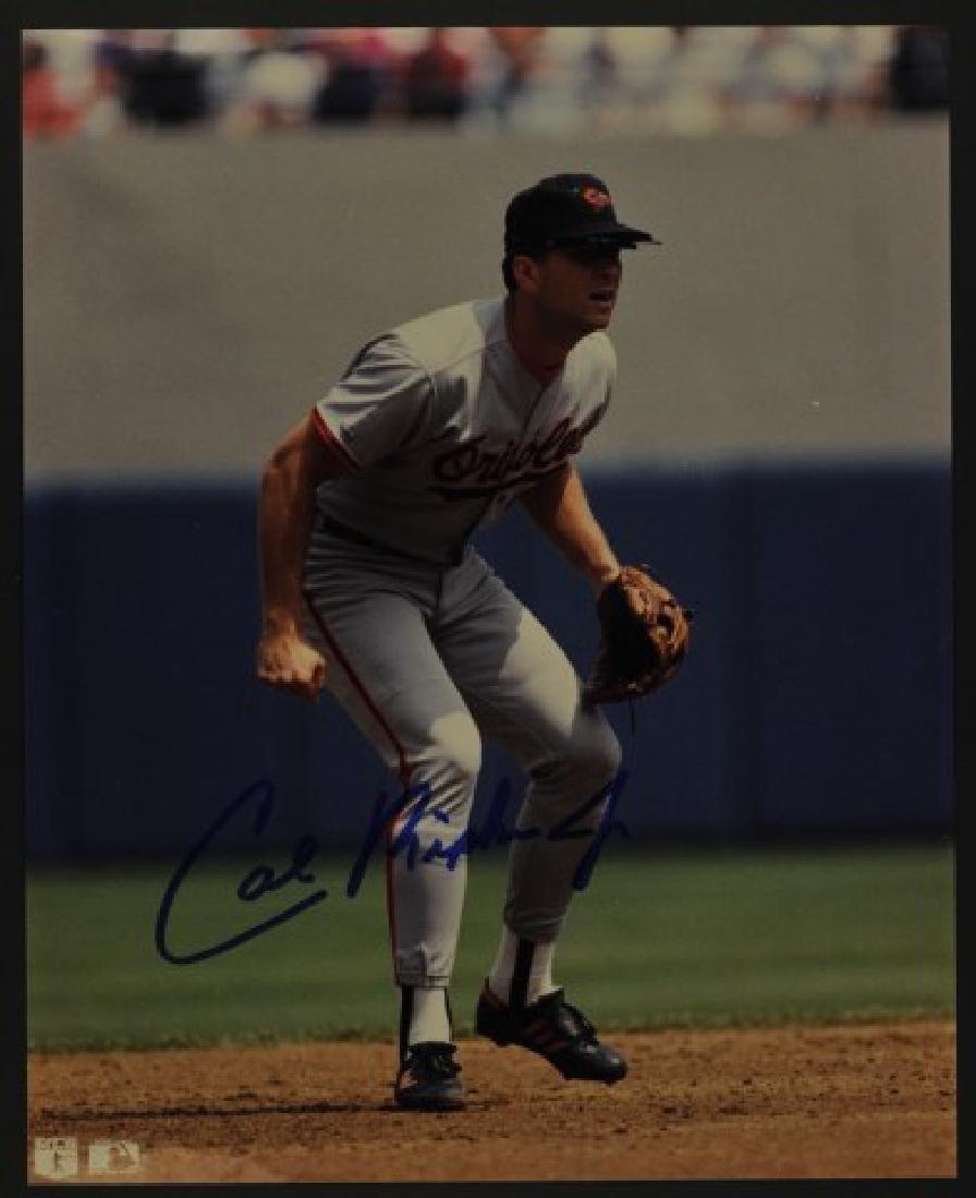 Signed Cal Ripken Jr. Photo