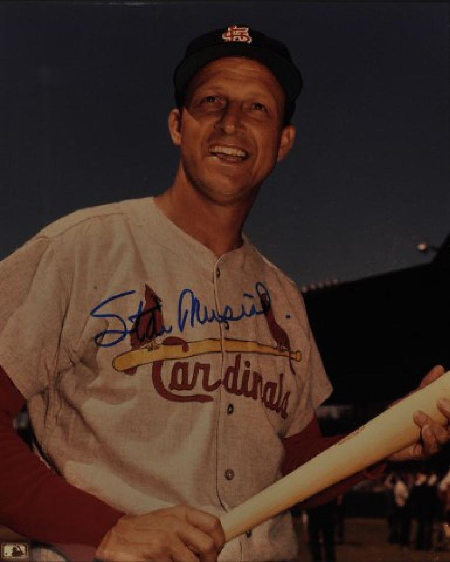 Signed Stan Musial Photo