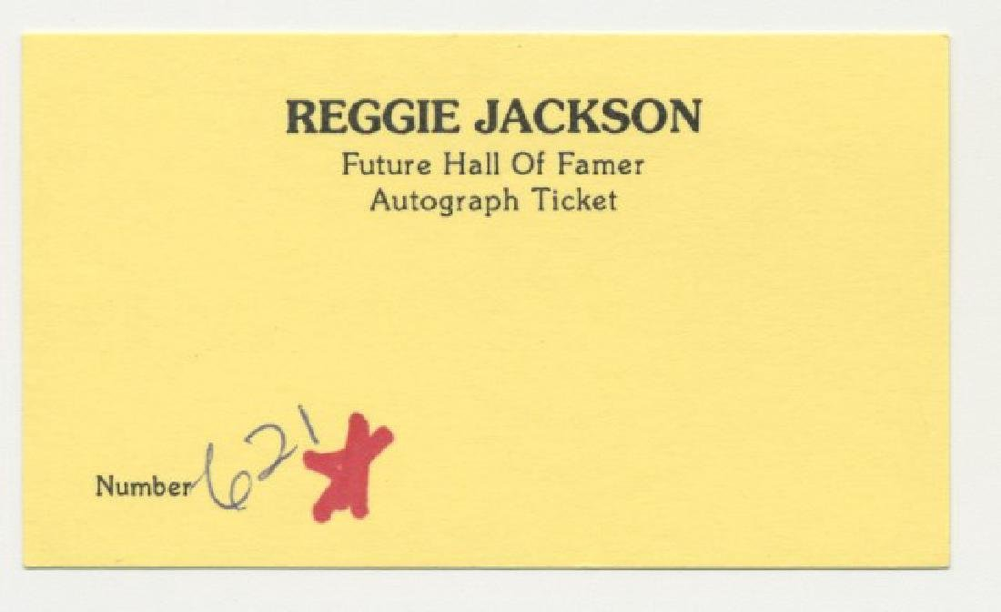 Signed Reggie Jackson Photo - 2