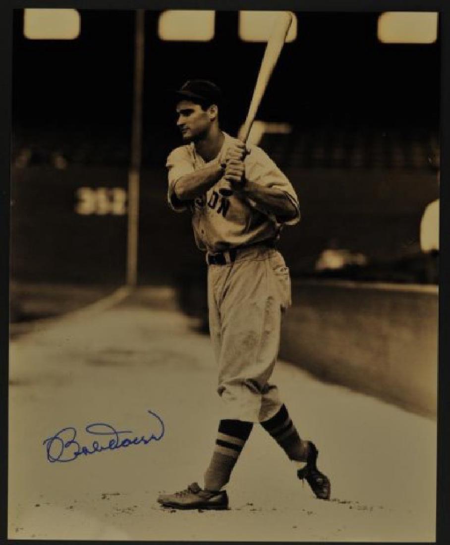 Signed Bobby Doerr Photo