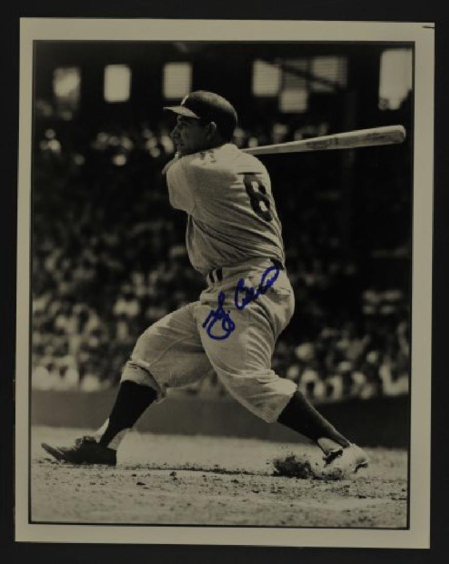 Signed Yogi Berra Photo