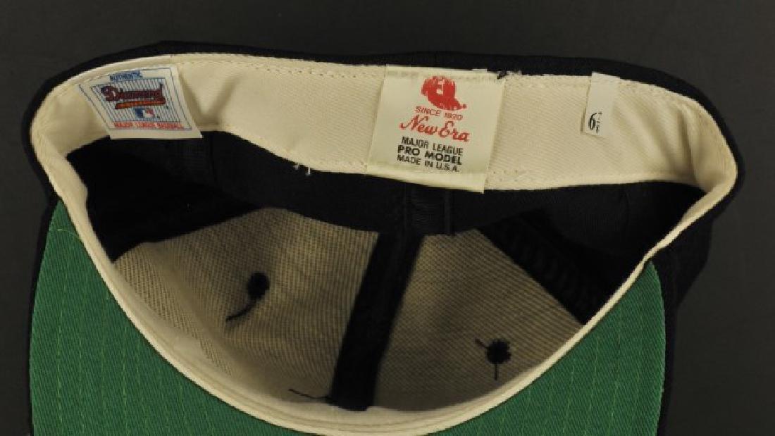 Signed Reggie Jackson NY Hat - 2