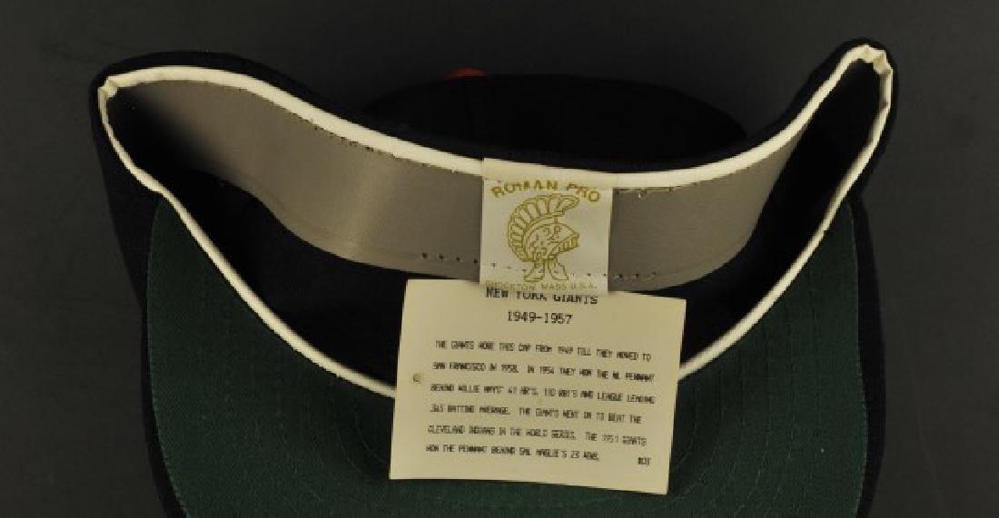 Signed Willie Mays NY Hat - 2