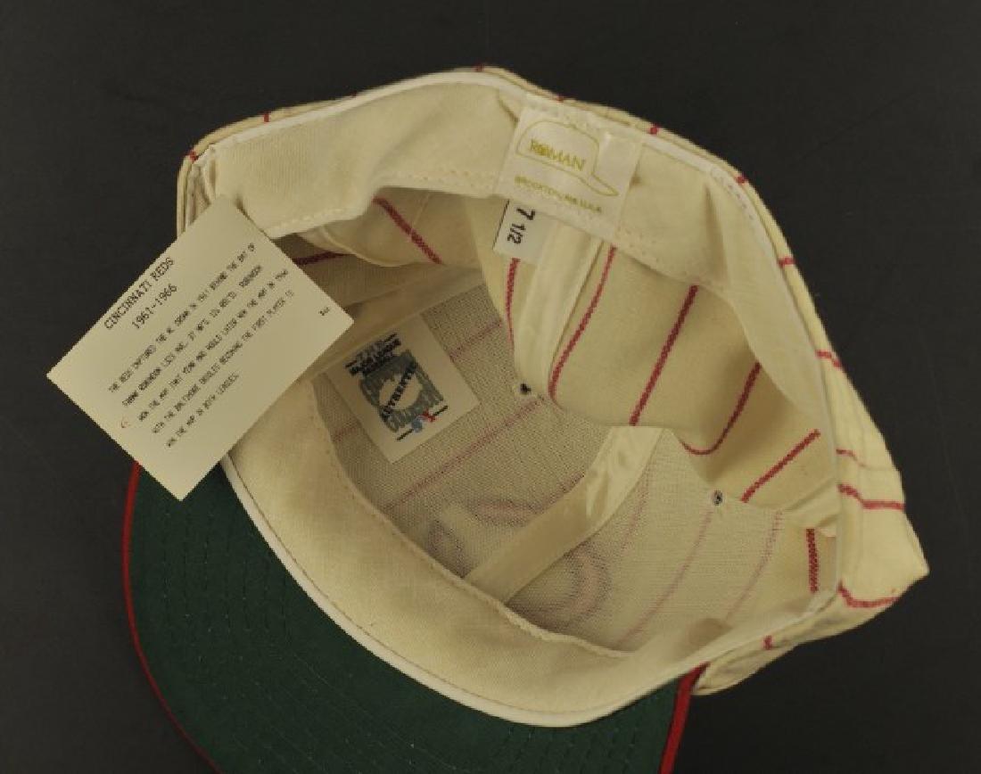 Signed Pete Rose Cincinnati Hat - 2