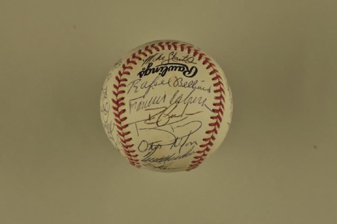 Signed 1993 Atlanta Braves Team Baseball