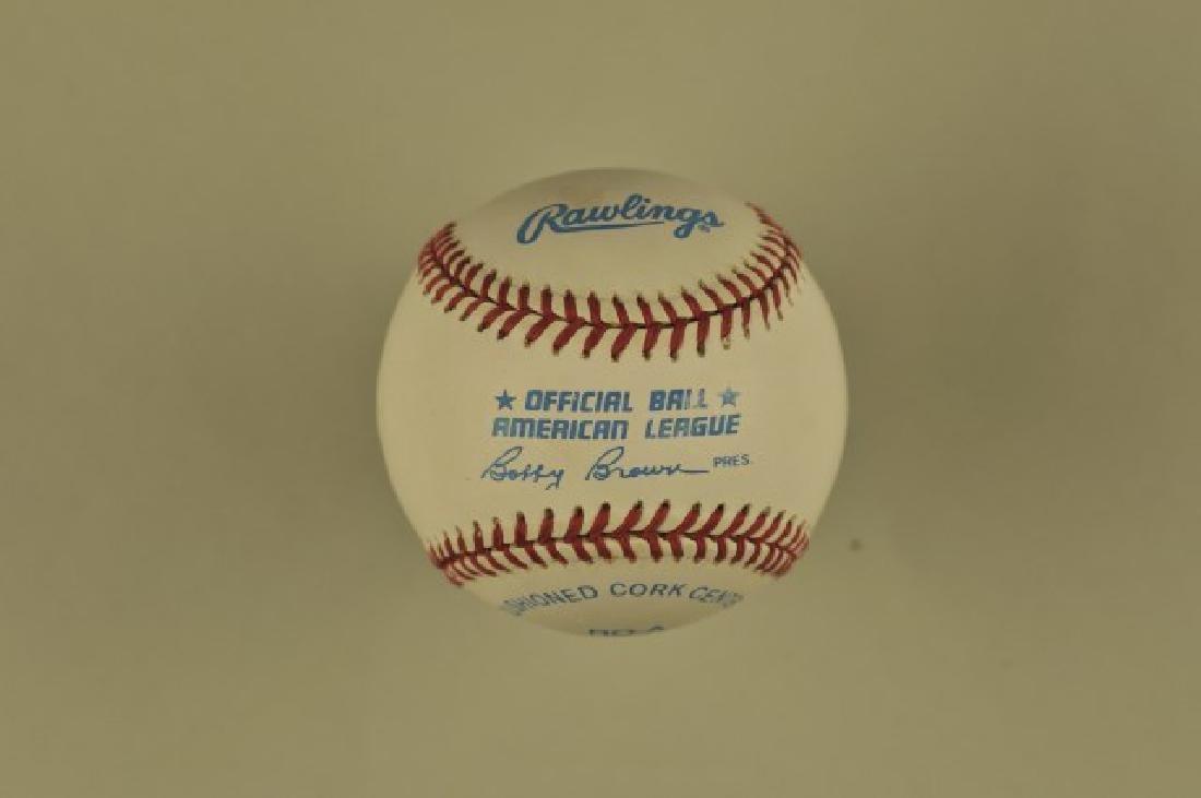Signed Joe Dimaggio Baseball - 2