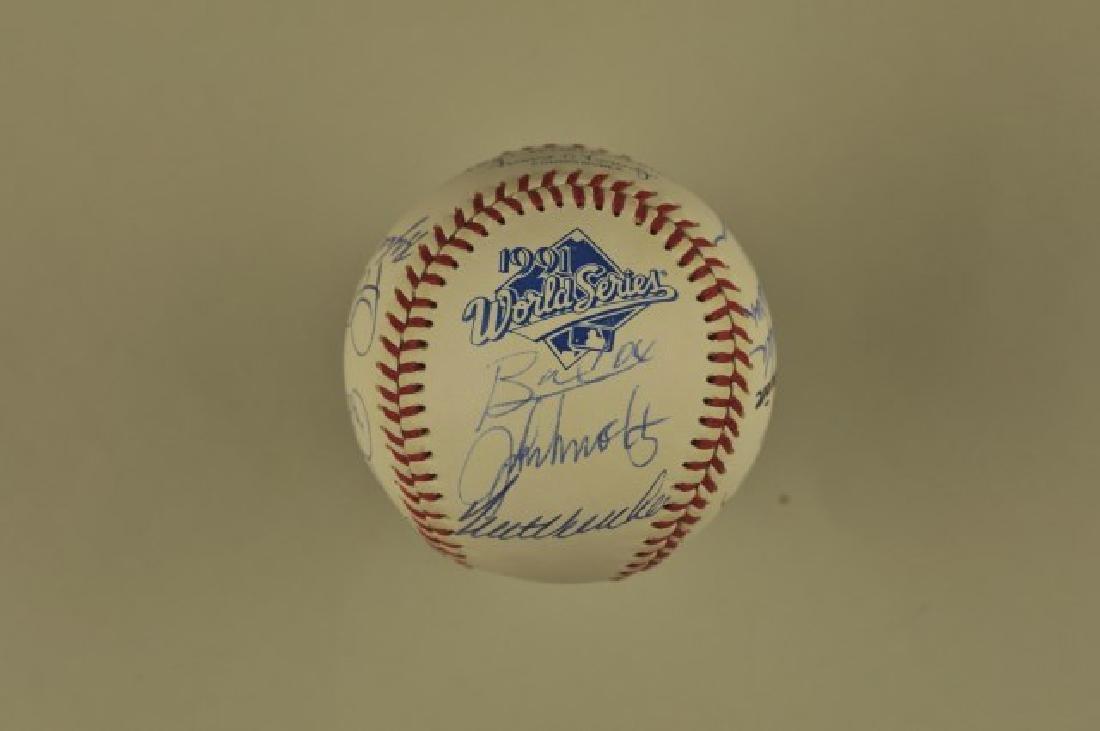 Signed '91 Atlanta Braves World Series Team Ball