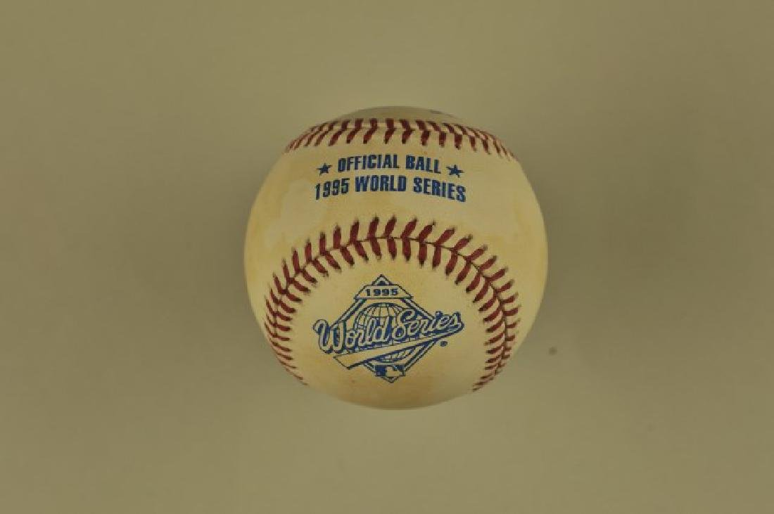 1995 Official World Series Ball