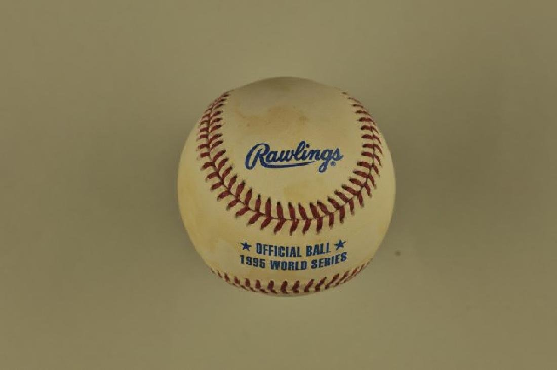 1995 Official World Series Ball - 2