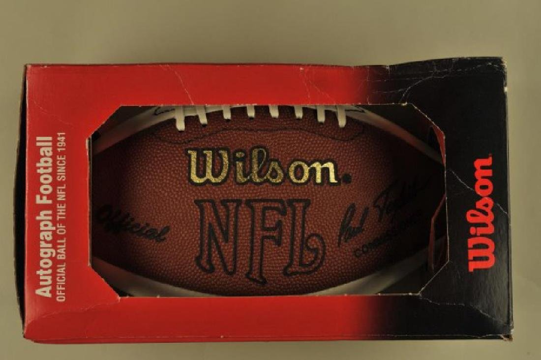 Official Autograph NFL Football (Unsigned)