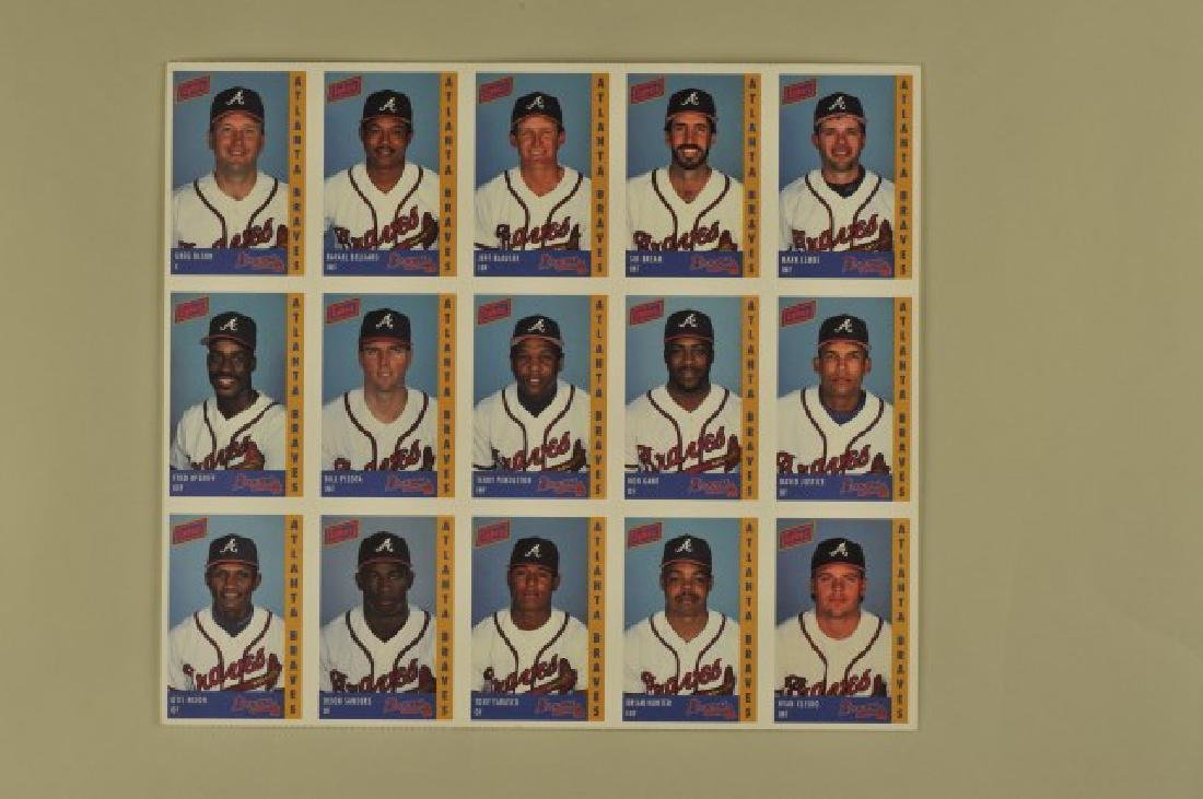 3 '92 Signed Sid Bream Atl Jrnls & Picture Cards - 7