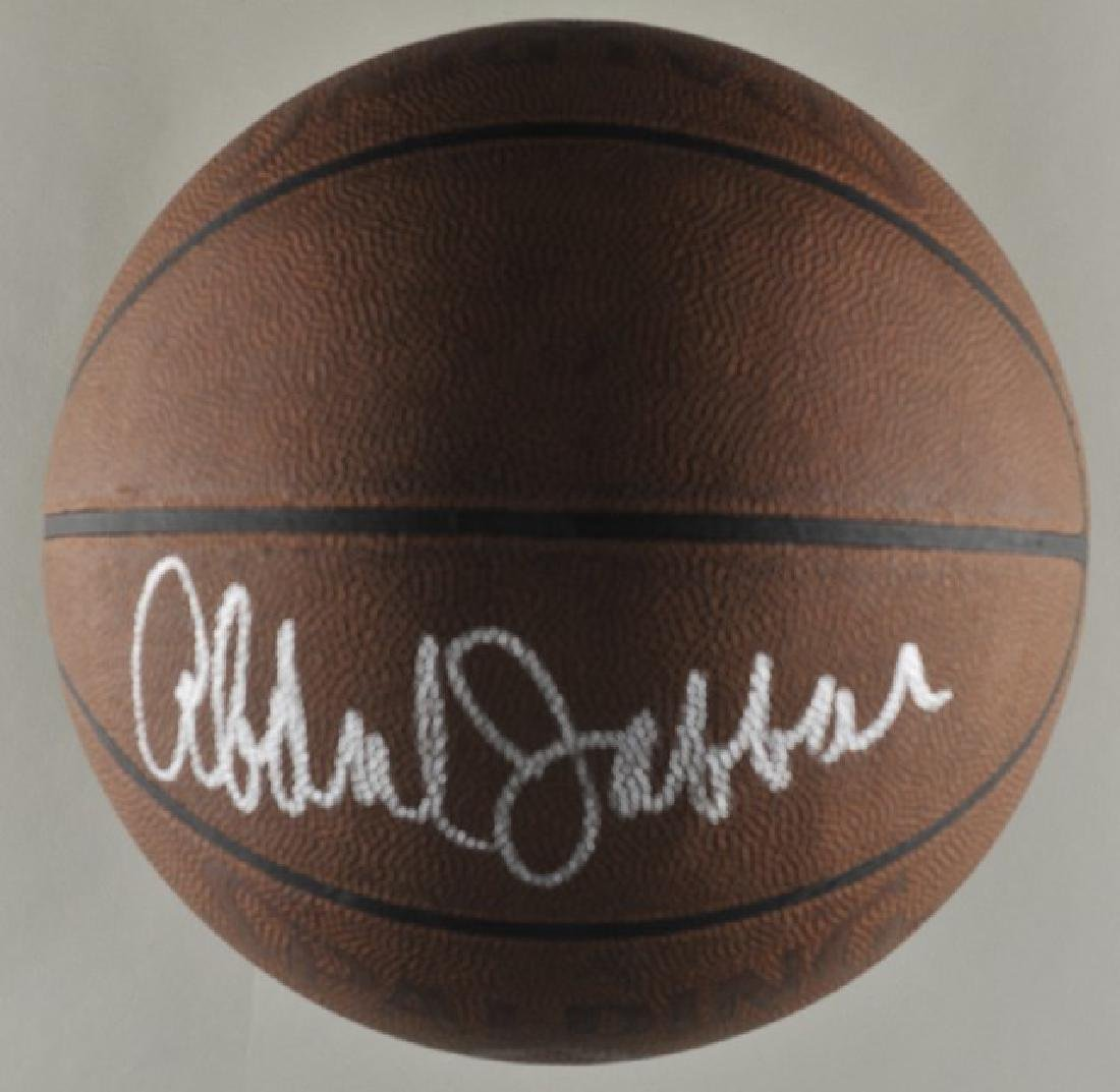 Signed Kareem Abdul-Jabbar Basketball