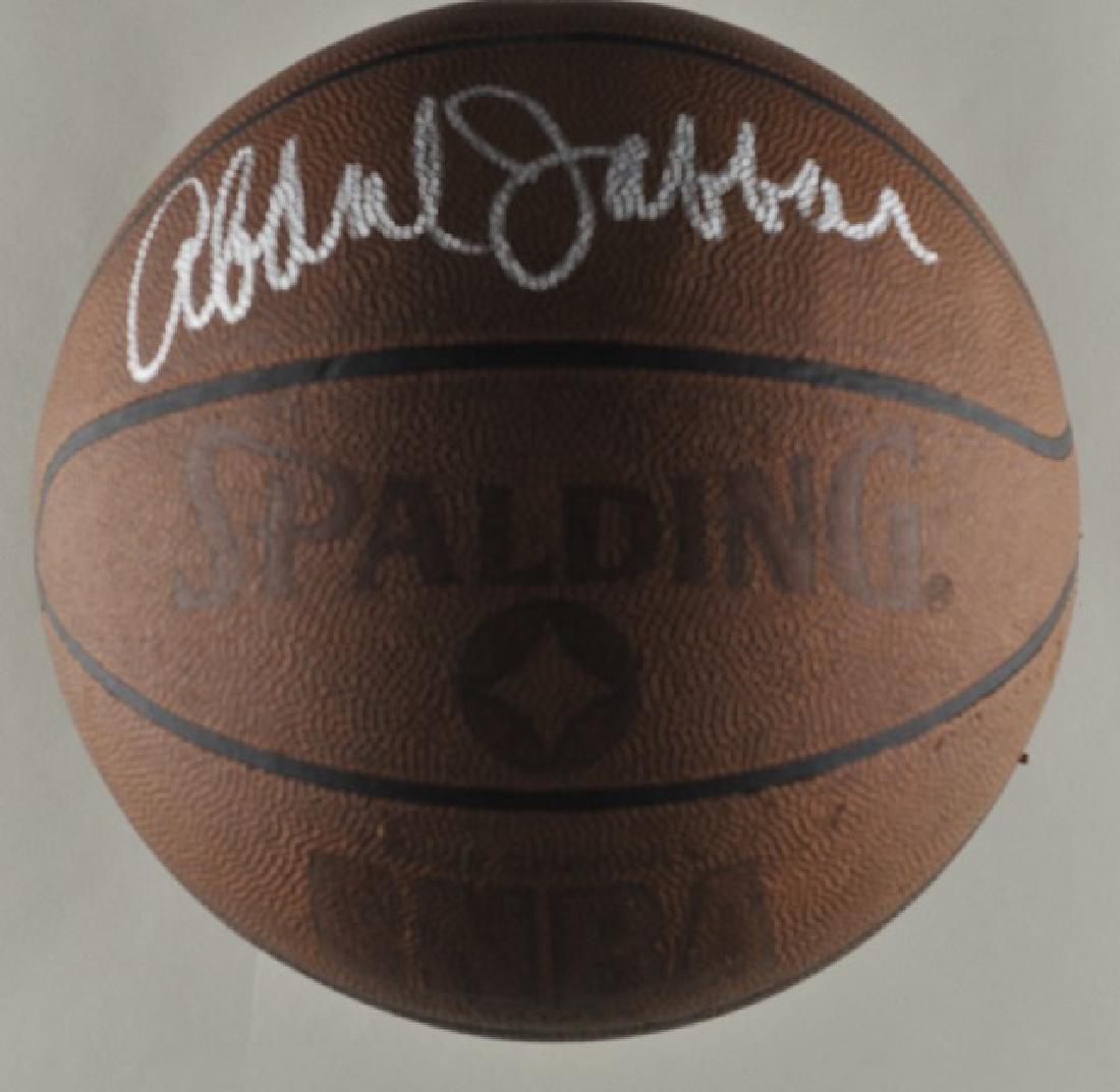 Signed Kareem Abdul-Jabbar Basketball - 2