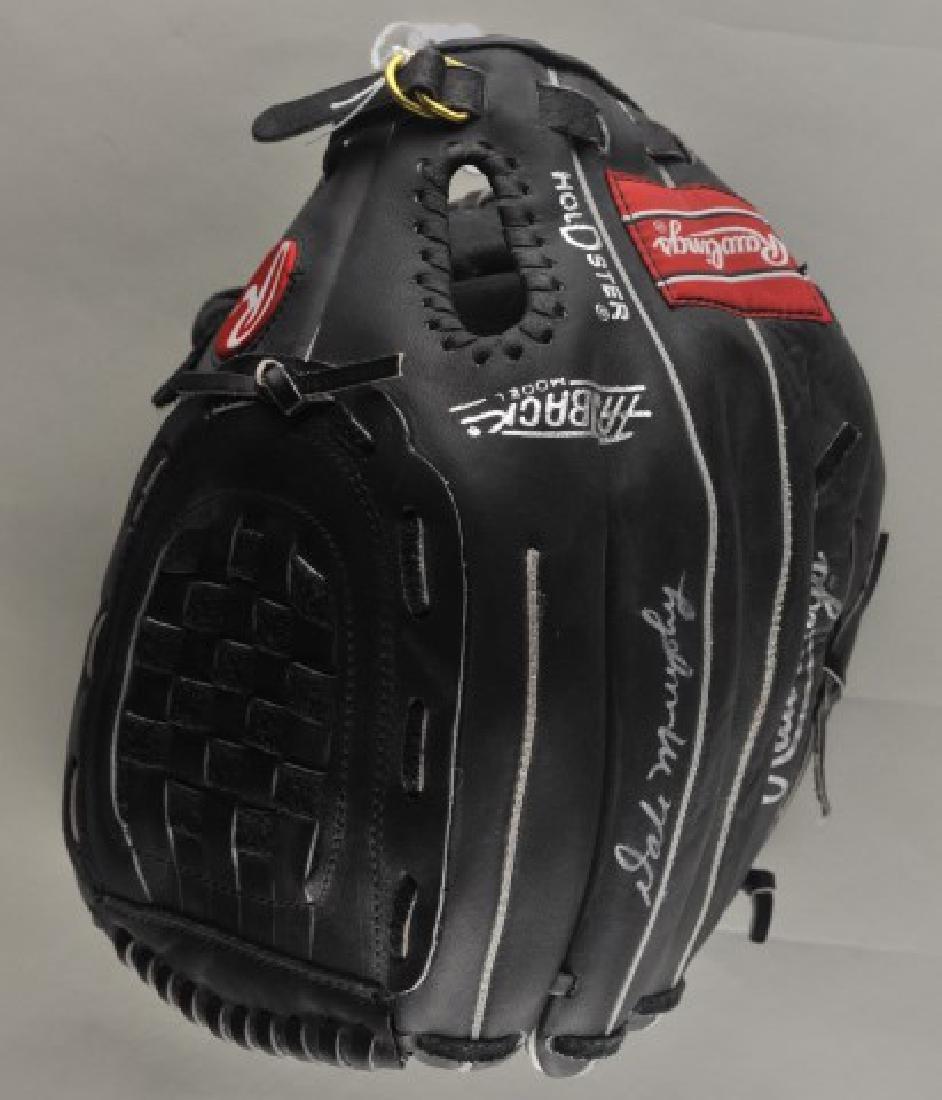 Signed Dale Murphy Baseball Glove