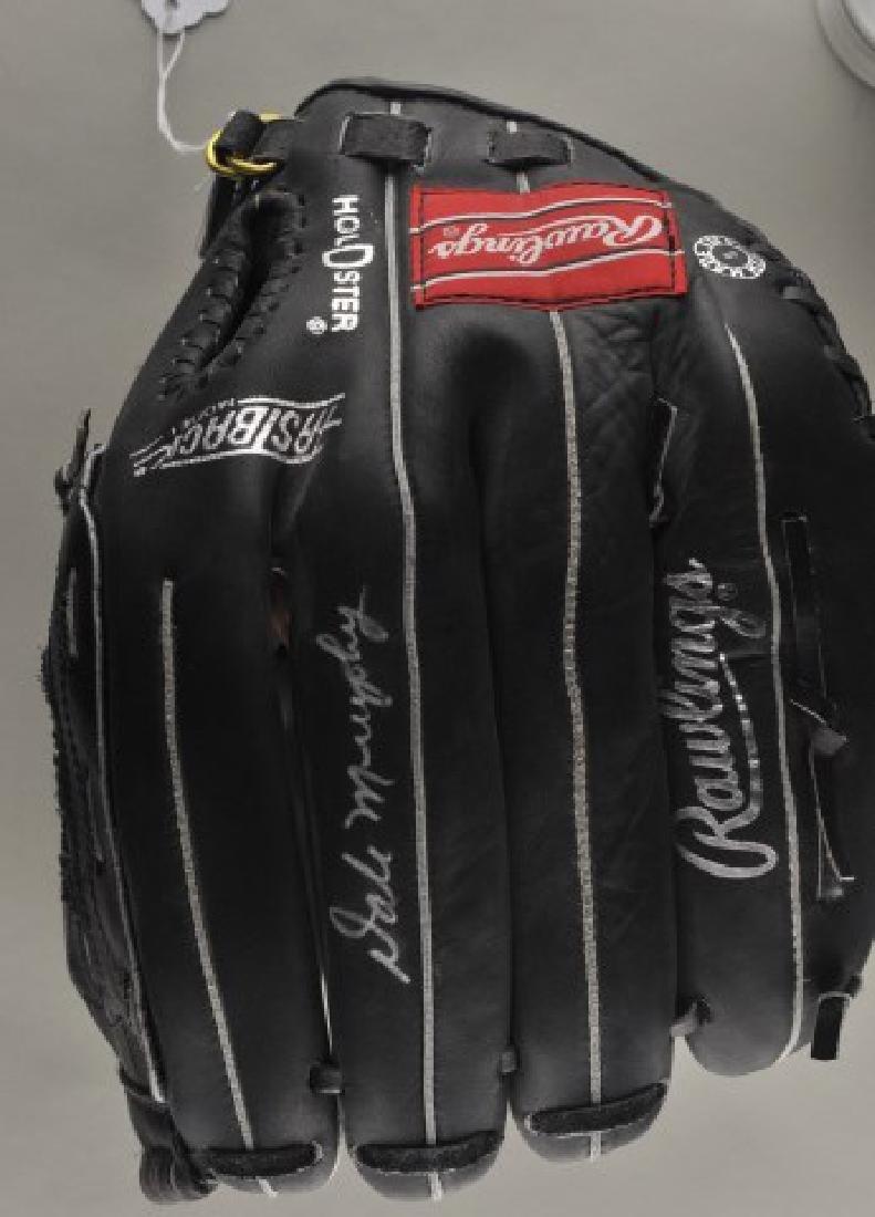 Signed Dale Murphy Baseball Glove - 2