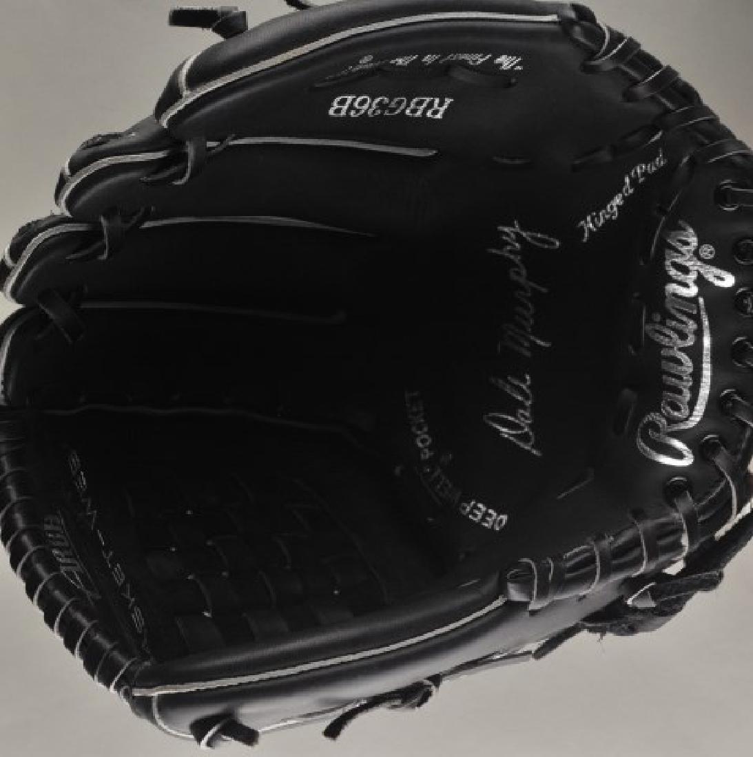 Signed Dale Murphy Baseball Glove - 3