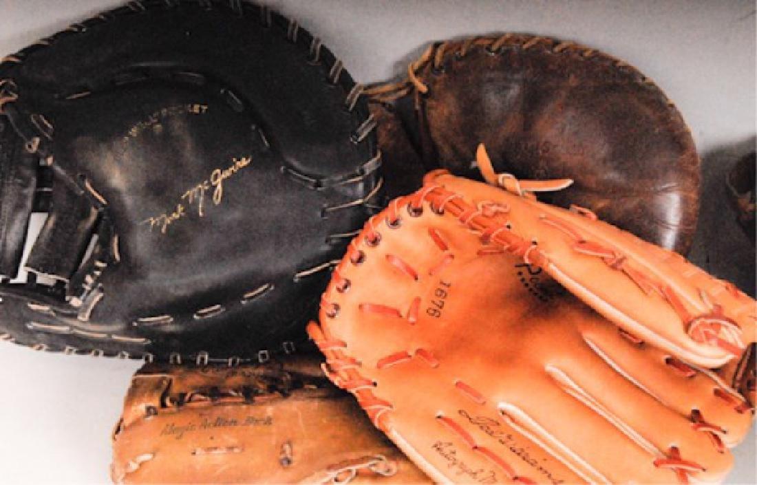 20 Vintage Baseball Gloves - 10