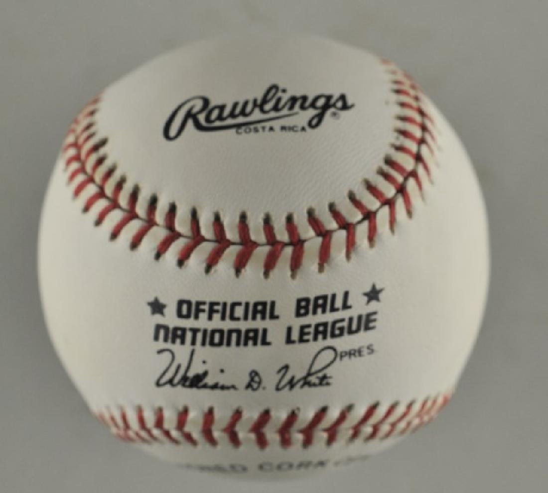 Signed Steve Carlton Baseball - 2