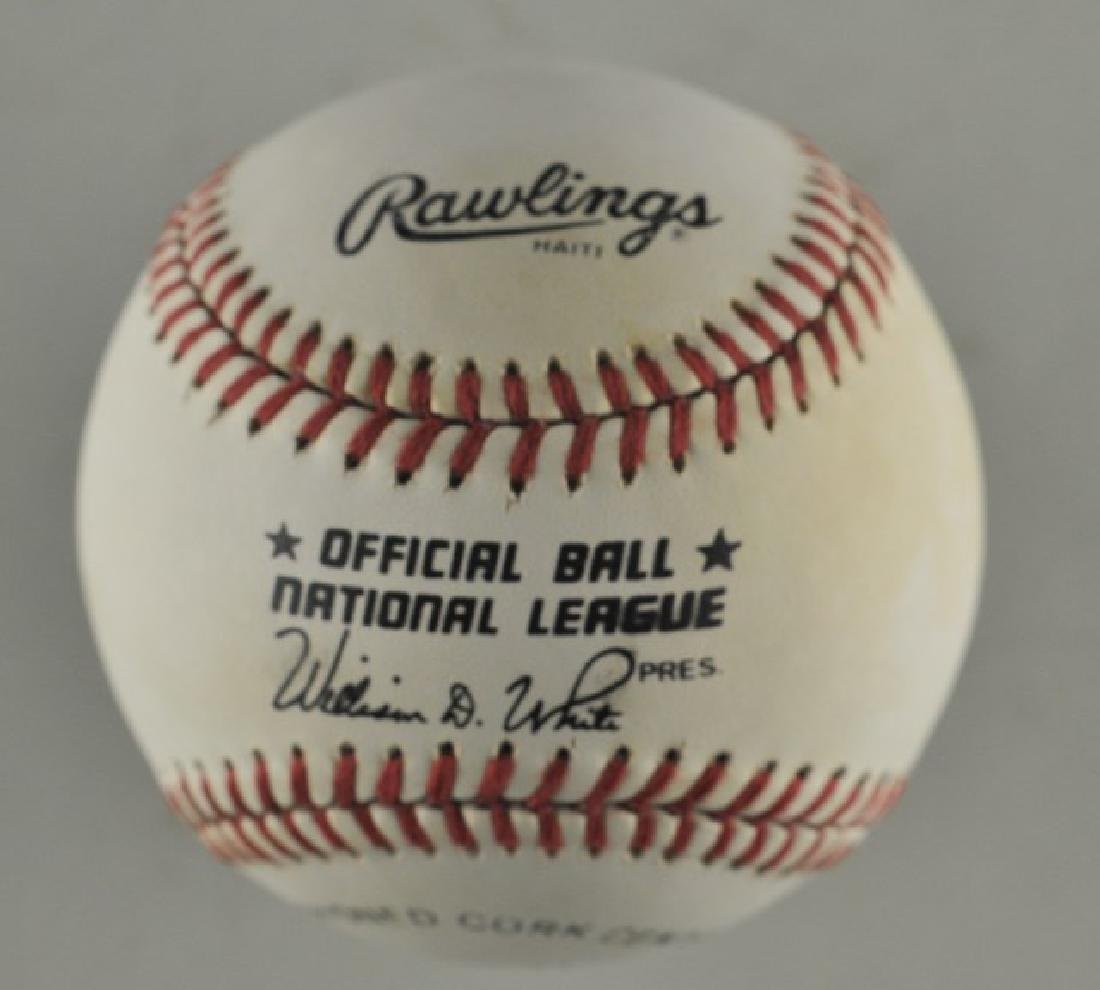 Signed Don Sutton Baseball - 2