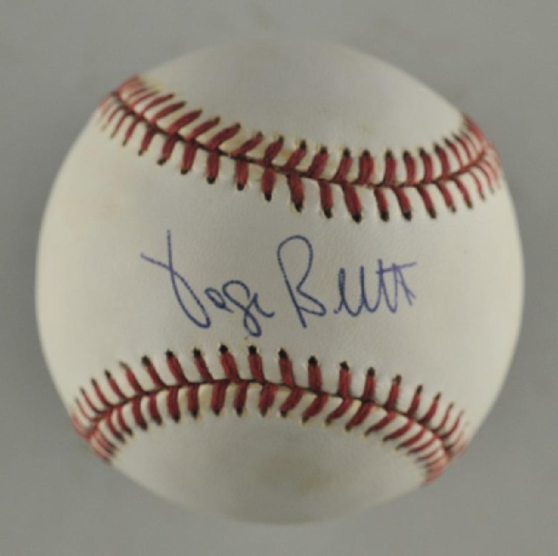 Signed George Brett Baseball