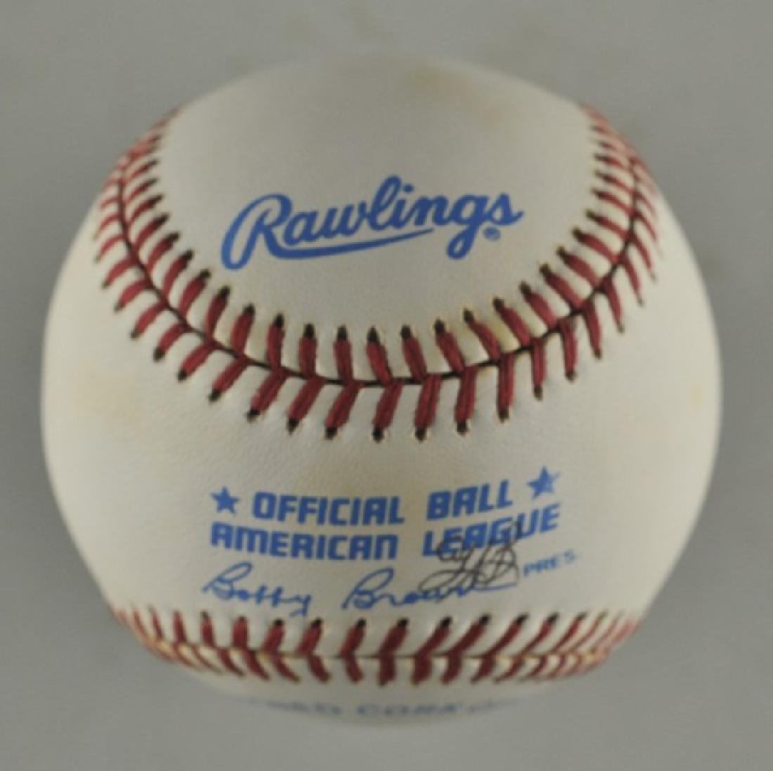 Signed George Brett Baseball - 2