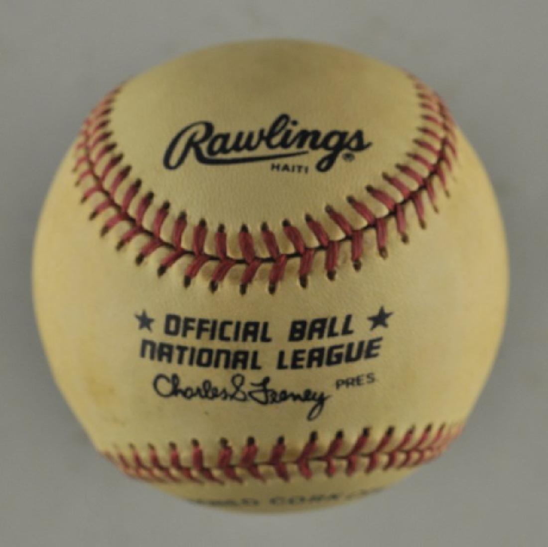 Signed Steve Carlton Baseball - 2