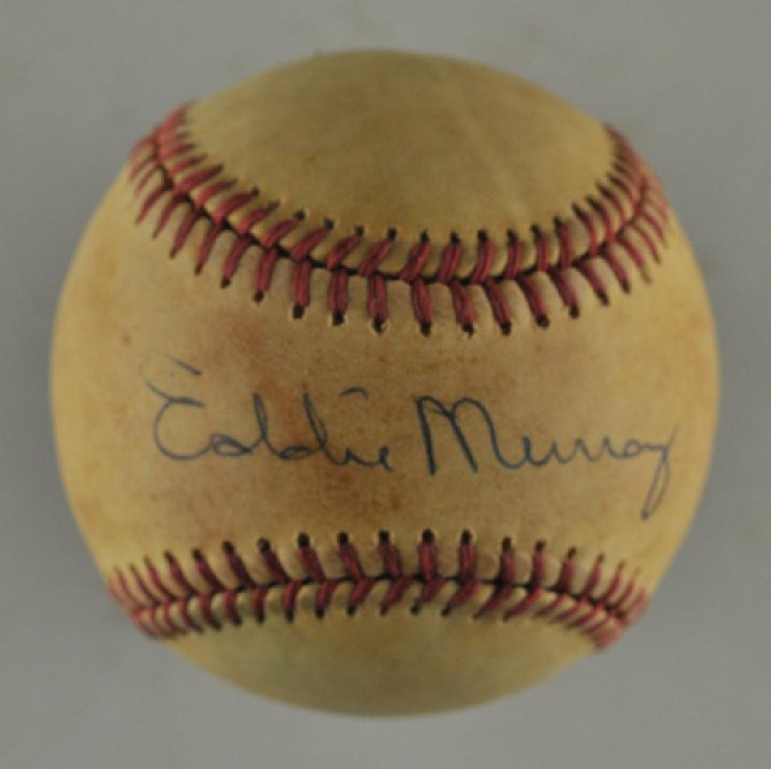 Signed Eddie Murray Baseball