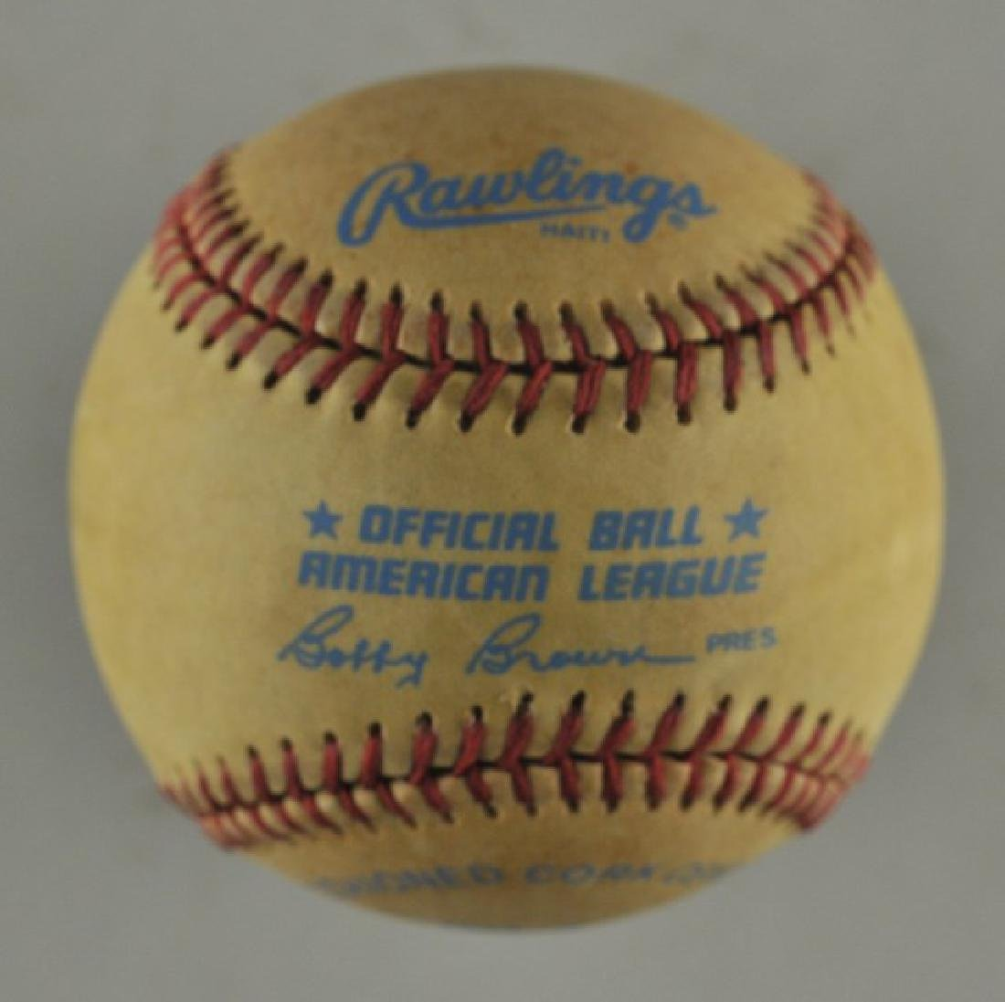 Signed Eddie Murray Baseball - 2