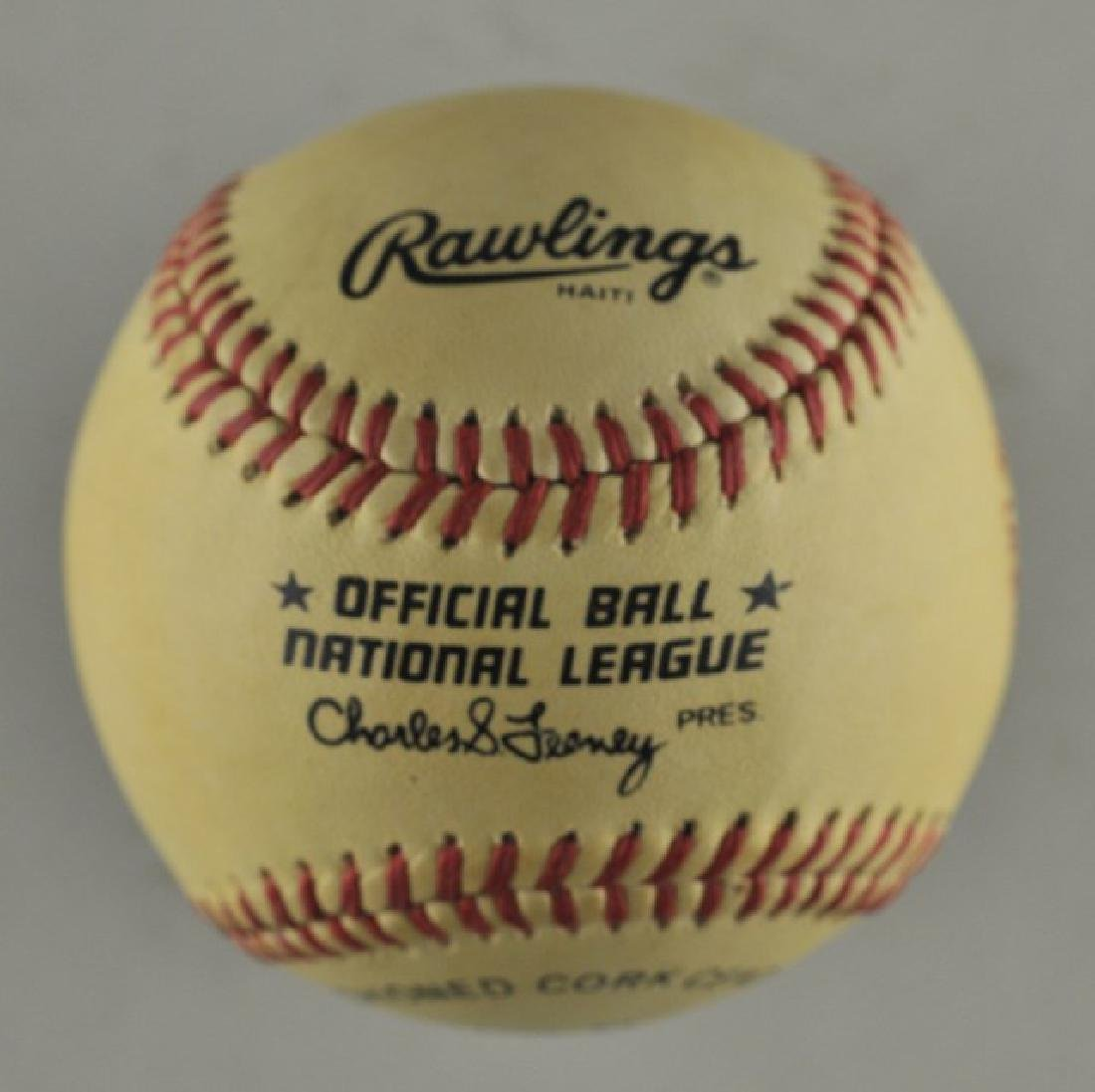 Signed Mike Schmidt Baseball - 2