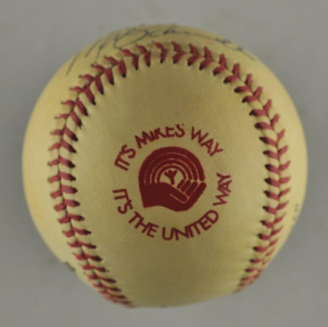 Signed Mike Schmidt Baseball - 3