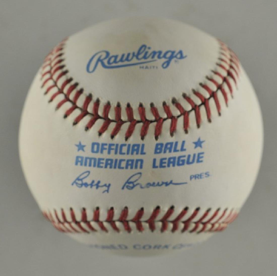 Signed Harmon Killibrew Baseball - 2