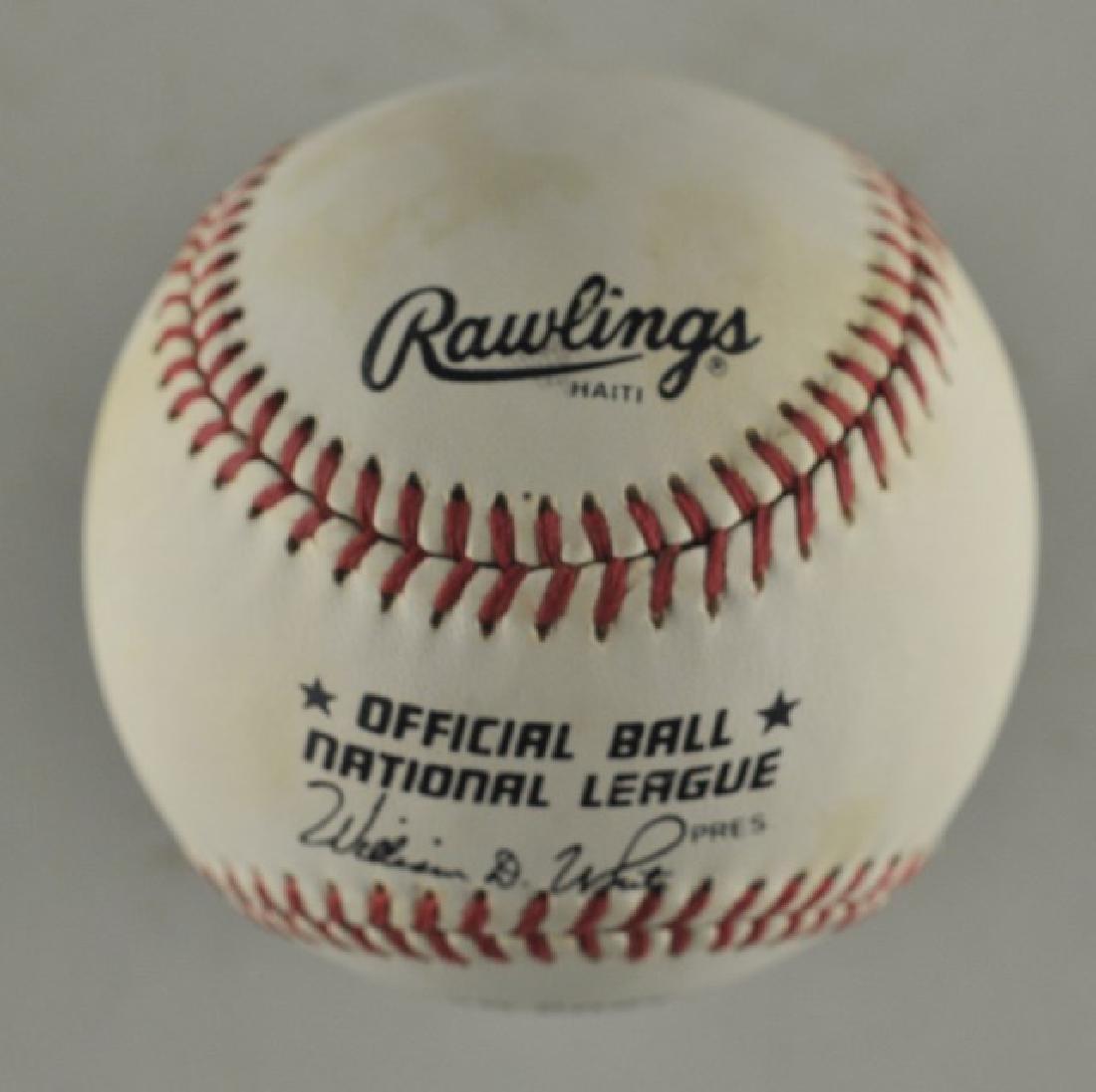 Signed Pete Rose Baseball - 2