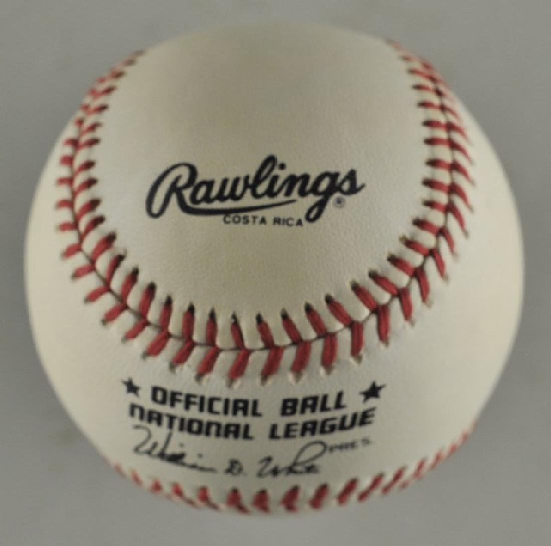 Signed Pete Rose Baseball - 2